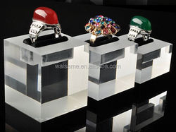Clear Acrylic Material Acrylic Jewelry Display Case