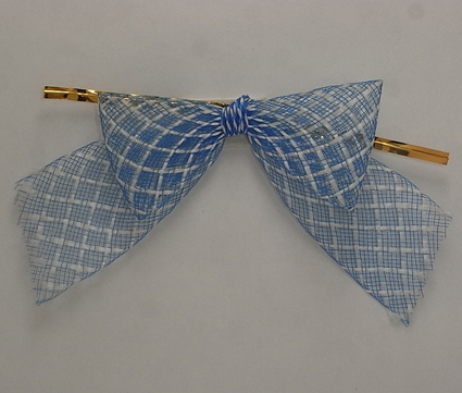 Factory Price Factory Handmade Mesh Pre-Tied Bows For Christmas,Gift Package,Gift Box