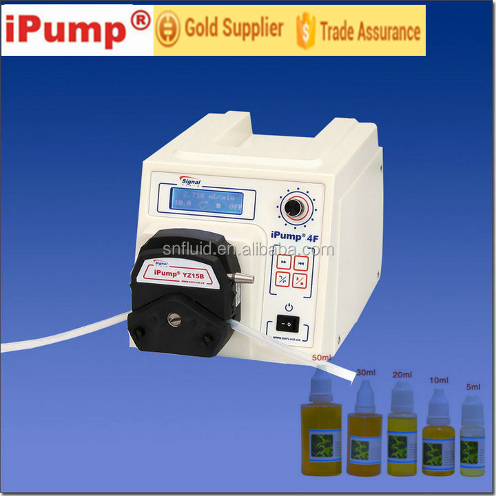 Easy use precision high viscosity peristaltic pump