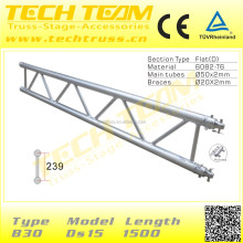B30-DS15 Popular Wholesale Stage Aluminum Truss Display/Roof Truss Stage Aluminum Truss Display for Decoration.