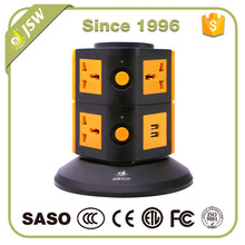 With overload protector 2 layer 2500 watt meter thin wall transformation socket