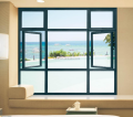sound proof and weather proof vertical window/hurricane impact windows