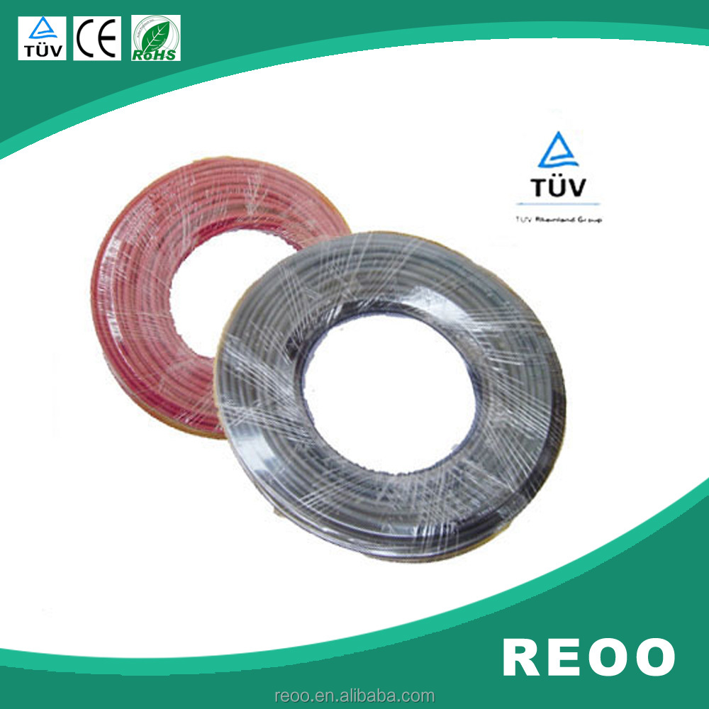 REOO PV Solar <strong>Cable</strong> Solar Panel Connector Wire Cable1x 2.5MM2