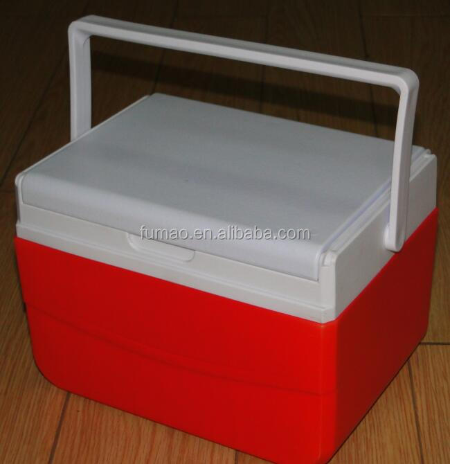 5L Plastic cooler box picnic/camping/hiking box /daily thermal box to keep cold and warm.