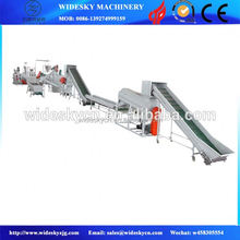 Fully automatic washing line plastic recycling/waste plastic washing line