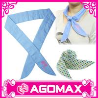 Magic neck ice cool scarf customized printing neck cooling scarf