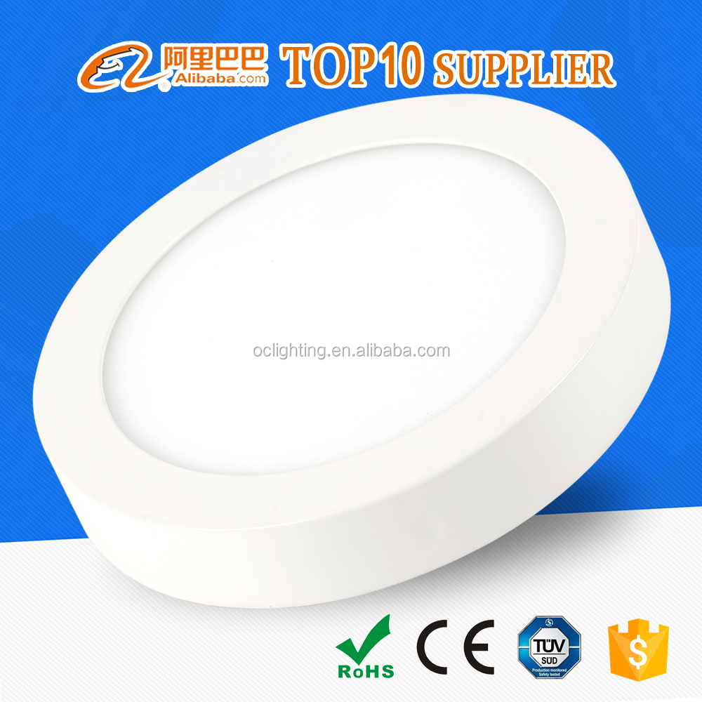 Best quality CE RoHS SMD2835 zhongshan Guzhen led light panel round with 3w 6w 9w 12w 15w 18w 24