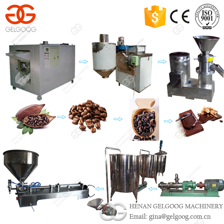 Professional Automatic Peanut Butter Making Machine Chickpeas Cocoa Beans Grinding Machine