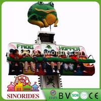 amusement park equipment playground jumping rides jumping frog