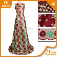 2016 Christmas French Lace Fabric Wholesale Dubai French Lace
