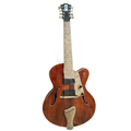 archtop 18inch 8 strings fully handmade with solid wood double pickups electric guitar