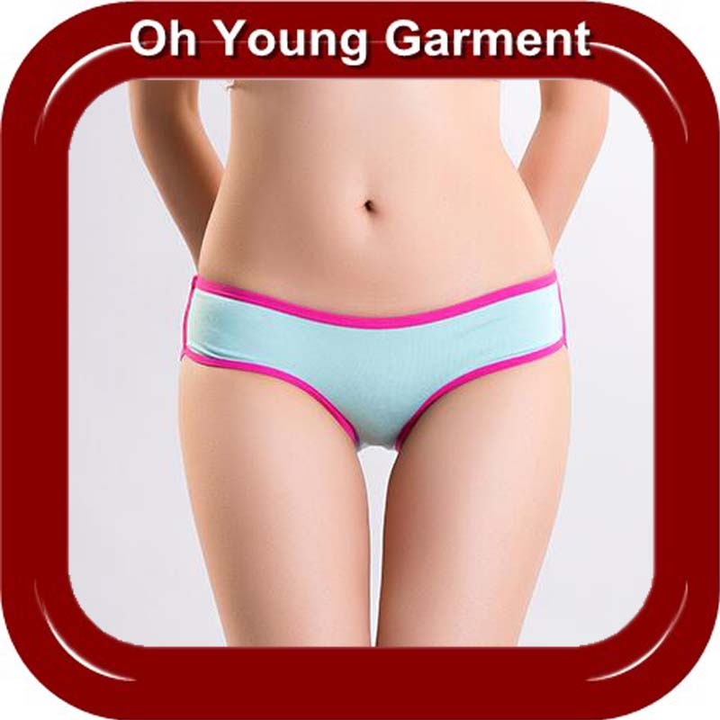 Hot sale 100% cotton women panties for women wear made in China