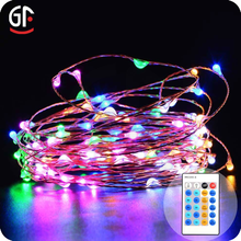 New Products Clear Wire Led String Light Led Play Light String Remote Controlled