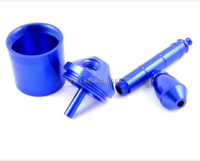 aluminum alloy metal smoking pipes parts china manufacturer low price
