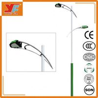 High quality stainless steel street light pole