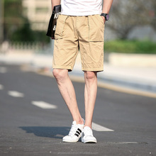 Mens Chino Shorts Cargo Summer Cotton Work Combat Half Pant Casual Designer New##