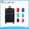 Fashional new design large capacity durable colorful sky travel trolley bags