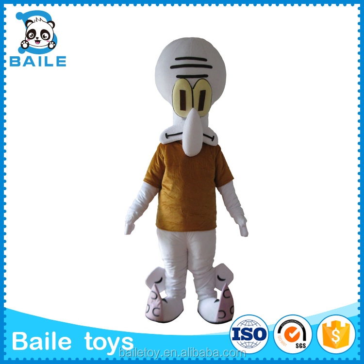 Custom Squidward Tentacles mascot costumes manufacturer