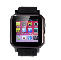 Good quality stylish Z15 android 4.4 smart watch phones with free cellphone holder