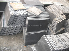 China Cheap Absolute Black Slate Building Stone Slate Price With High Quality