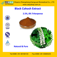 GMP Factory Supply Natural Black Cohosh Root Extract