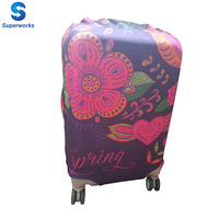 Spandex trolley bag travel bag cover suitcase cover