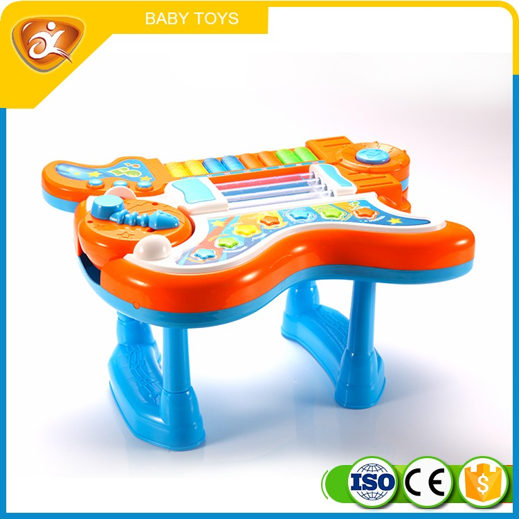 Multi-function guitar toy small plastic musical instruments for kids