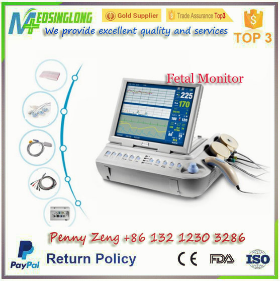 Obstetric Fetal Monitor/ Maternal Monitor / Infant Monitor for Pregnancy with Factory Price - MSLDM02