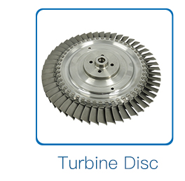 Flexible aluminium and titanium alloy turbine impeller