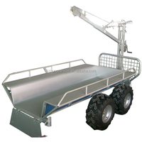China wholesale crane timber trailer,log loader trailer,log trailer
