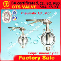 BV-SY-412 factory hot sale stainless steel SS 316 valve with hand lever EPDM seat