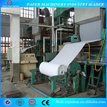 1880mm type 5-6 tons daily capacity small toilet tissue paper production line with competitive price