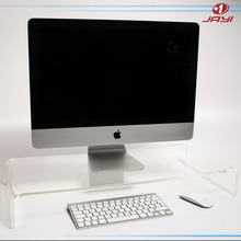50x30x9cmH Plastic clear acrylic computer monitor stand
