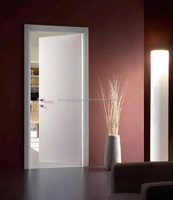 Hot Sale White Wooden Single Main Door Design