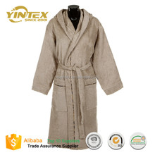Custom Designs Chinese Supplier Wholesale Hotel Spa Men Terry Bathrobe Robe