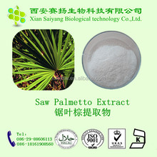 100% natural best saw palmetto/ saw palmetto fruit powder/ high quality saw palmetto extract
