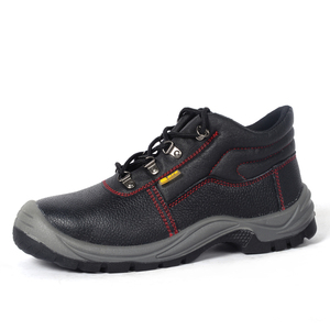 Work Shoes S1 Steel Toe Feature For Construction