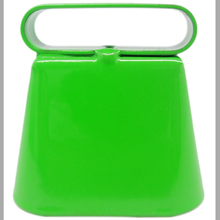 Shiny green hunting bells for dogs/sheep/cow, cow bell facotry from China with competitive price