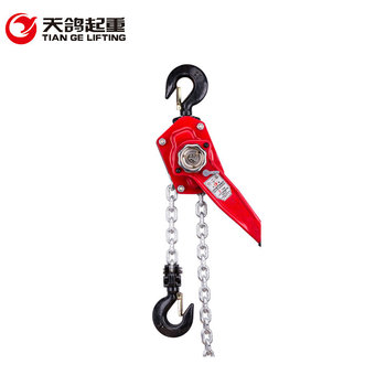 Manufacturer Portable Hoist Frame 9 Ton Manual Lifting Equipment Chain Lever Block