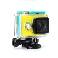 Transparent Clear Hard Waterproof Housing Case Sports Action Camera Cases Bag for Xiaomi Yi