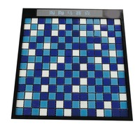 China glass mosaic for swimming pool tile