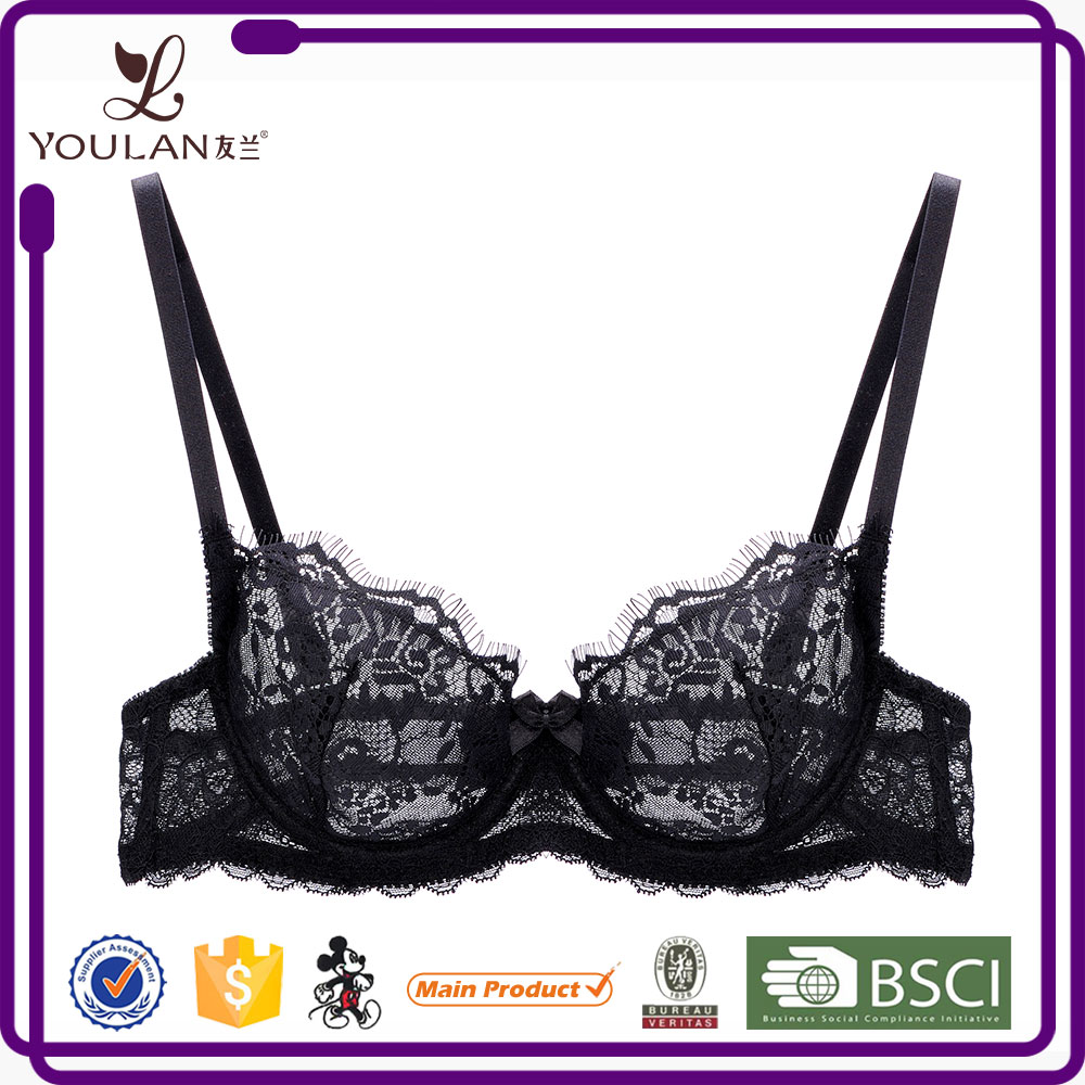 Lingeries Women Underwear Bras Transparent Erotic Sexy Lingerie Bra