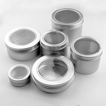 Aluminum Tin with clear pvc lid