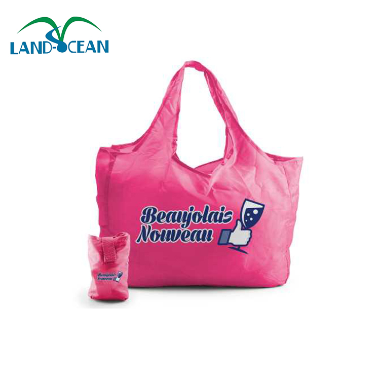 Custom cheap promotion foldable print eco shopping bags