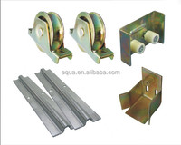 galvanized steel sliding door rollers pulley