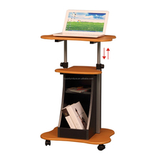 Portable & Adjustable Laptop Cart Mobile Computer Desk RX-D3002