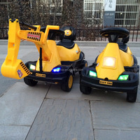 Wholesale ride on battery operated baby car kids ride on toy excavator KRB9266