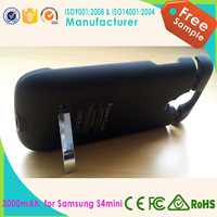 2200mAh phone battery case power bank charger case for samsung galaxy S4mini