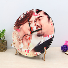 Sublimation blank wall clock for heat press printing