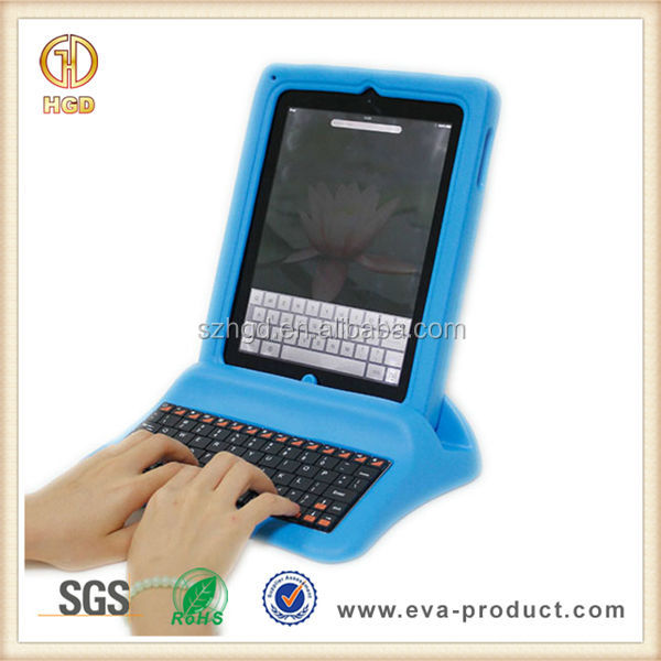 Primary School Students Friendly Tablet Protective Case with Keyboard